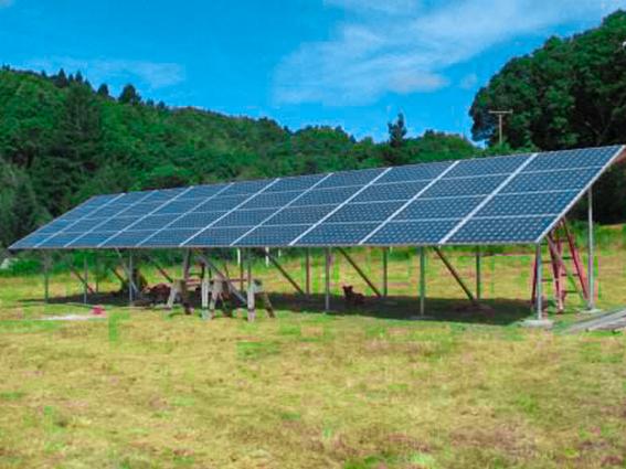 百亚太阳能地面电站